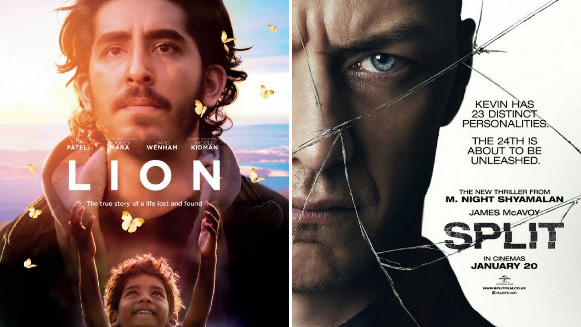 Lion / Split Double Feature - Back to the Movies #59