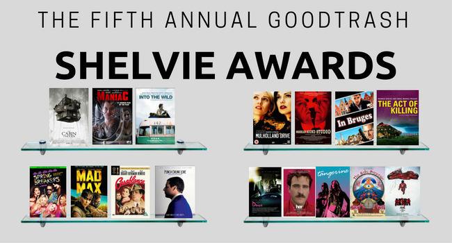 GoodTrash Shelvie Awards 2017